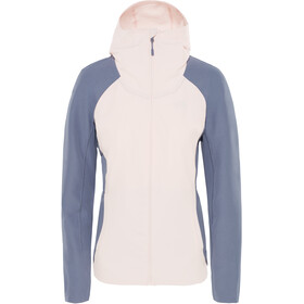 The North Face Invene Softshell Jacke Damen pink salt/grisaille grey